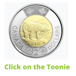Click on the Toonie